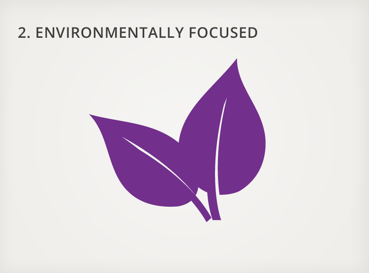 2. Environmentally Focussed