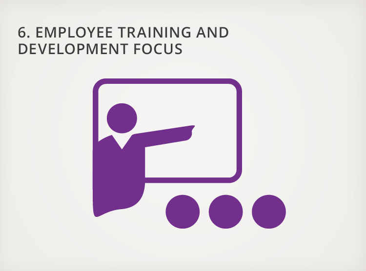 6. Employee Training and Development Focus